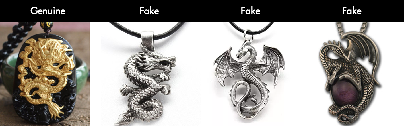 Imperial Dragon Amulet